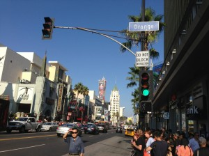 The famed corner of Hollywood Blvd. and Orange Dr. It's a 24-hour scrum of sweaty Spider-Man impersonators and garden-variety grifters (pleonasm?). I lived several blocks south of this madness.
