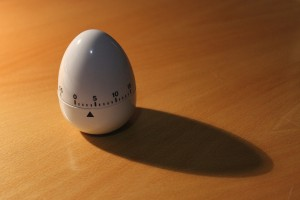 I bought an egg timer