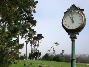 Quick stop to neighboring course Spyglass.