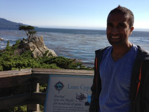 We made a special trip back to the memorable points on 17 Mile Drive for old times' sake (old times = the day prior).