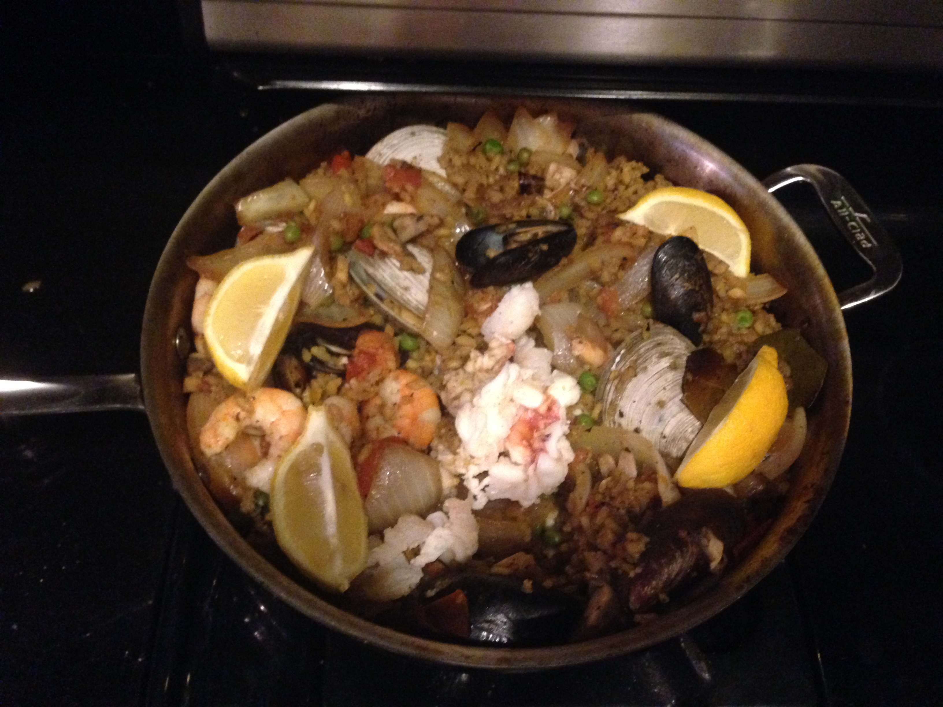 Word to the wise (which everyone already knew but I foolishly ignored): paella is both expensive and arduous to make!
