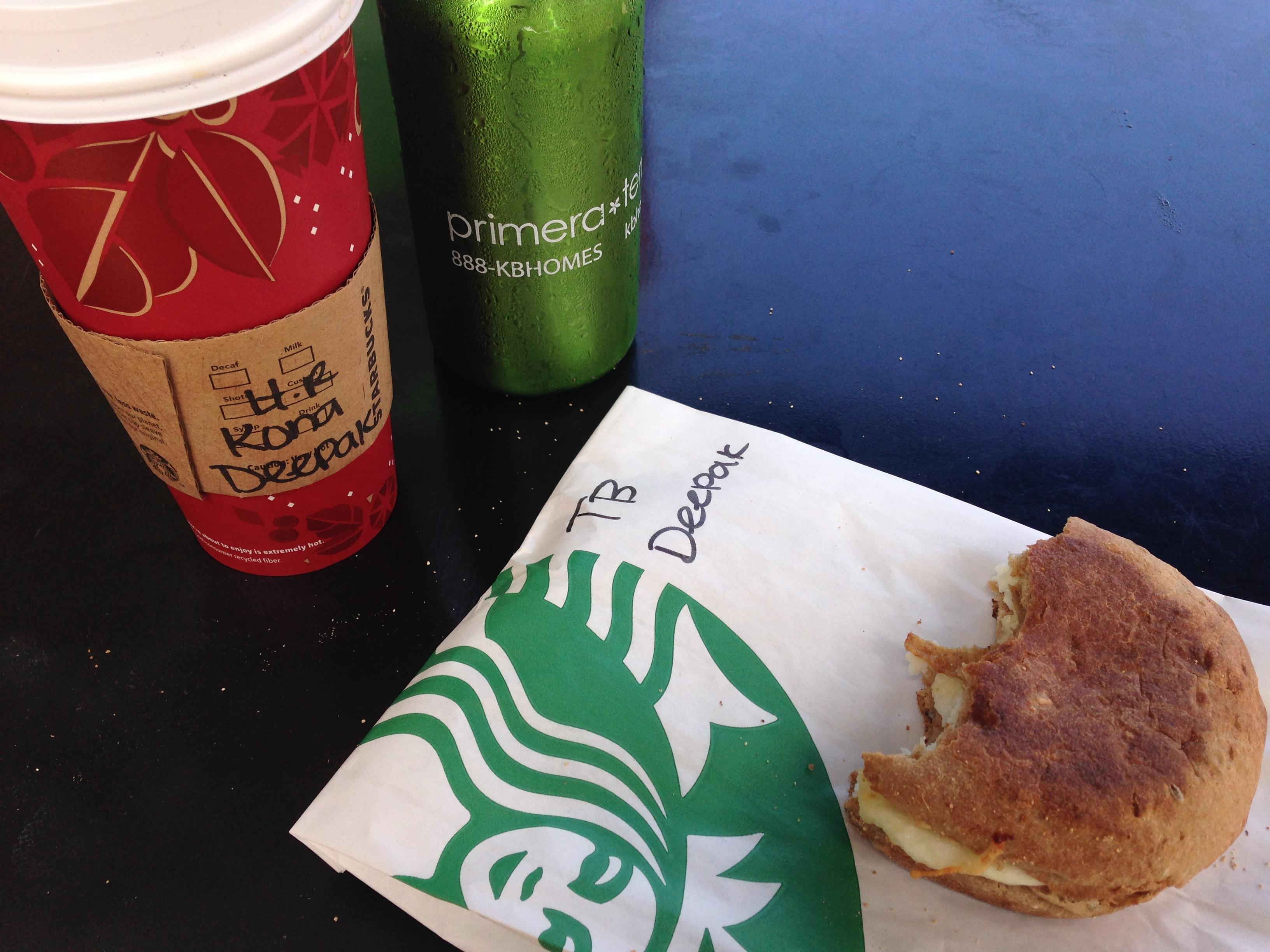 Kona Starbucks coffee -- an unadvertised island specialty!