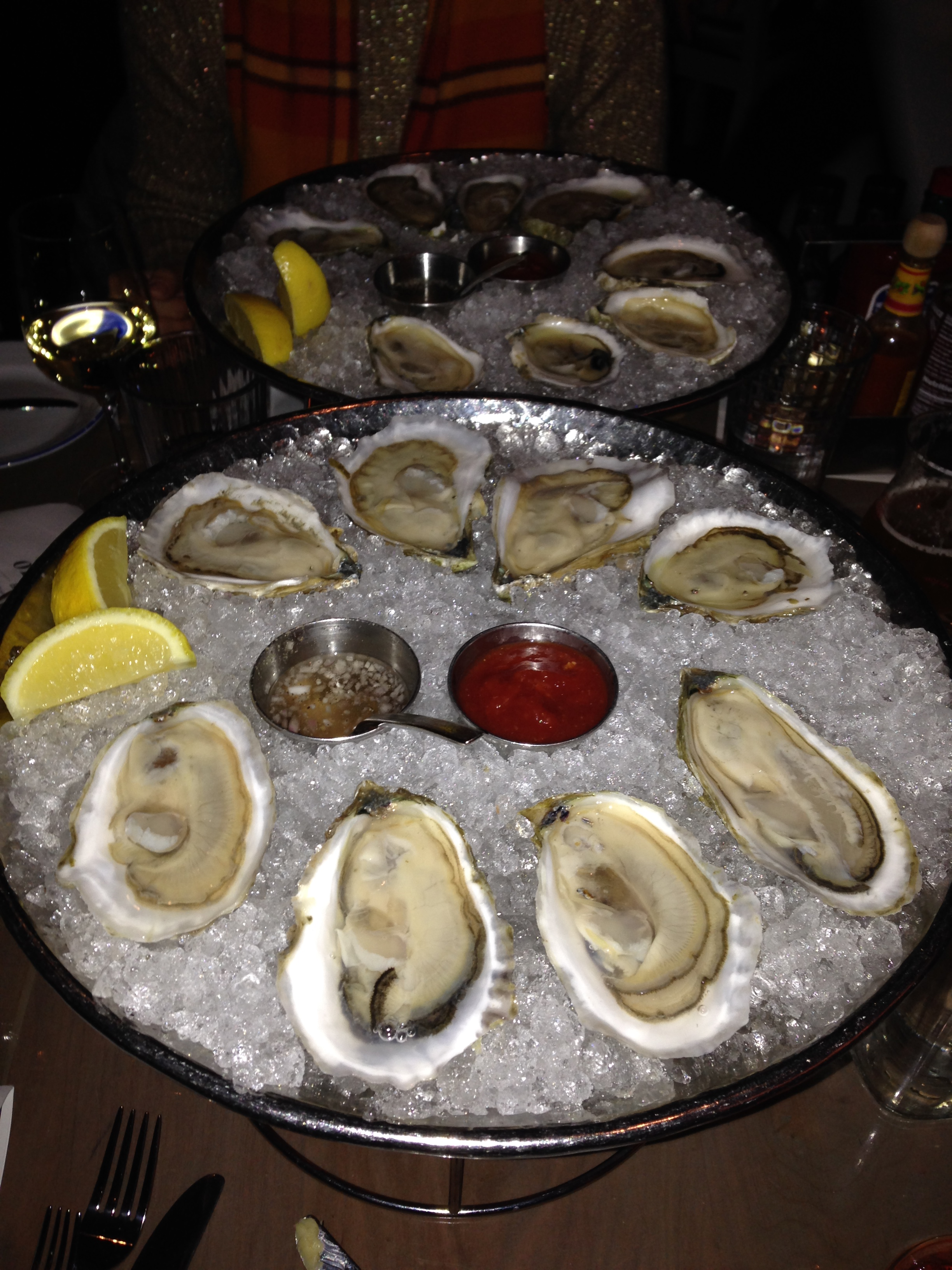 And be shellfish a little while longer.