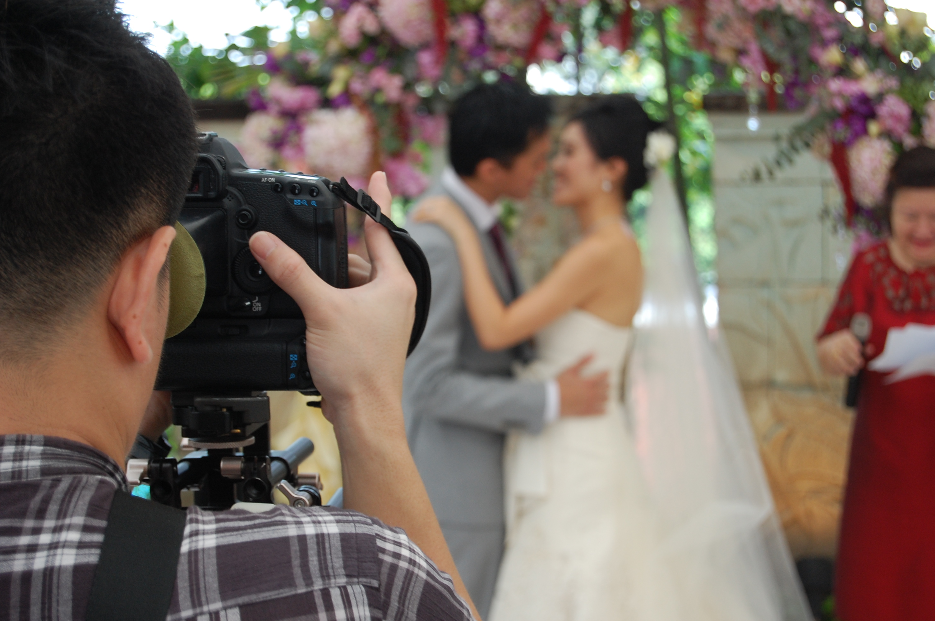 My beautiful friend Su, getting married in Singapore in March 2013.