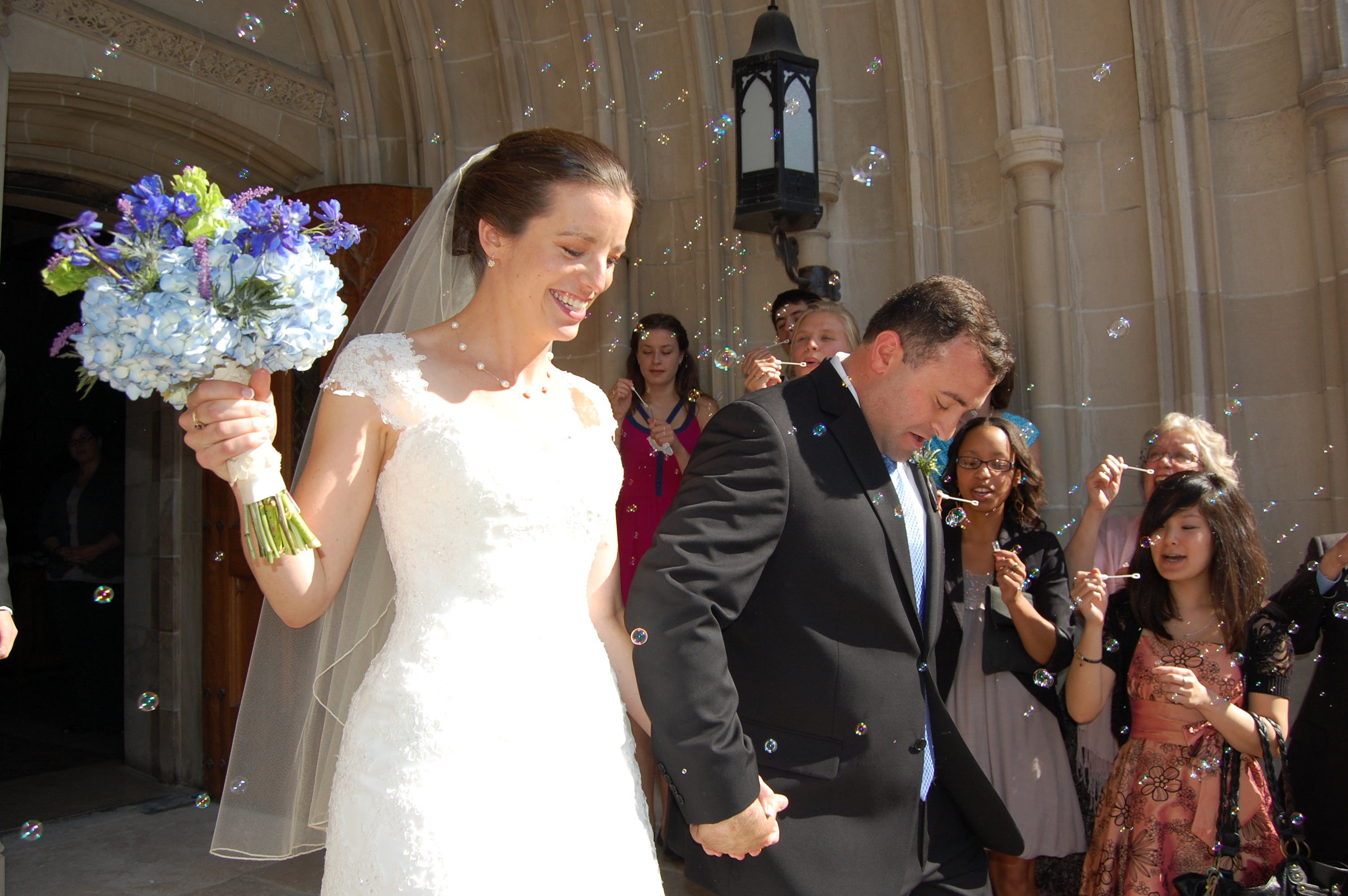 And, for completeness, I can't leave out the sweet wedding of my dear college friend Amy, in September 2012.