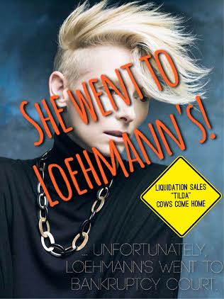 Disclaimer: Tilda Swinton does not, as far as I know, explicitly endorse or patronize Loehmann's stores.