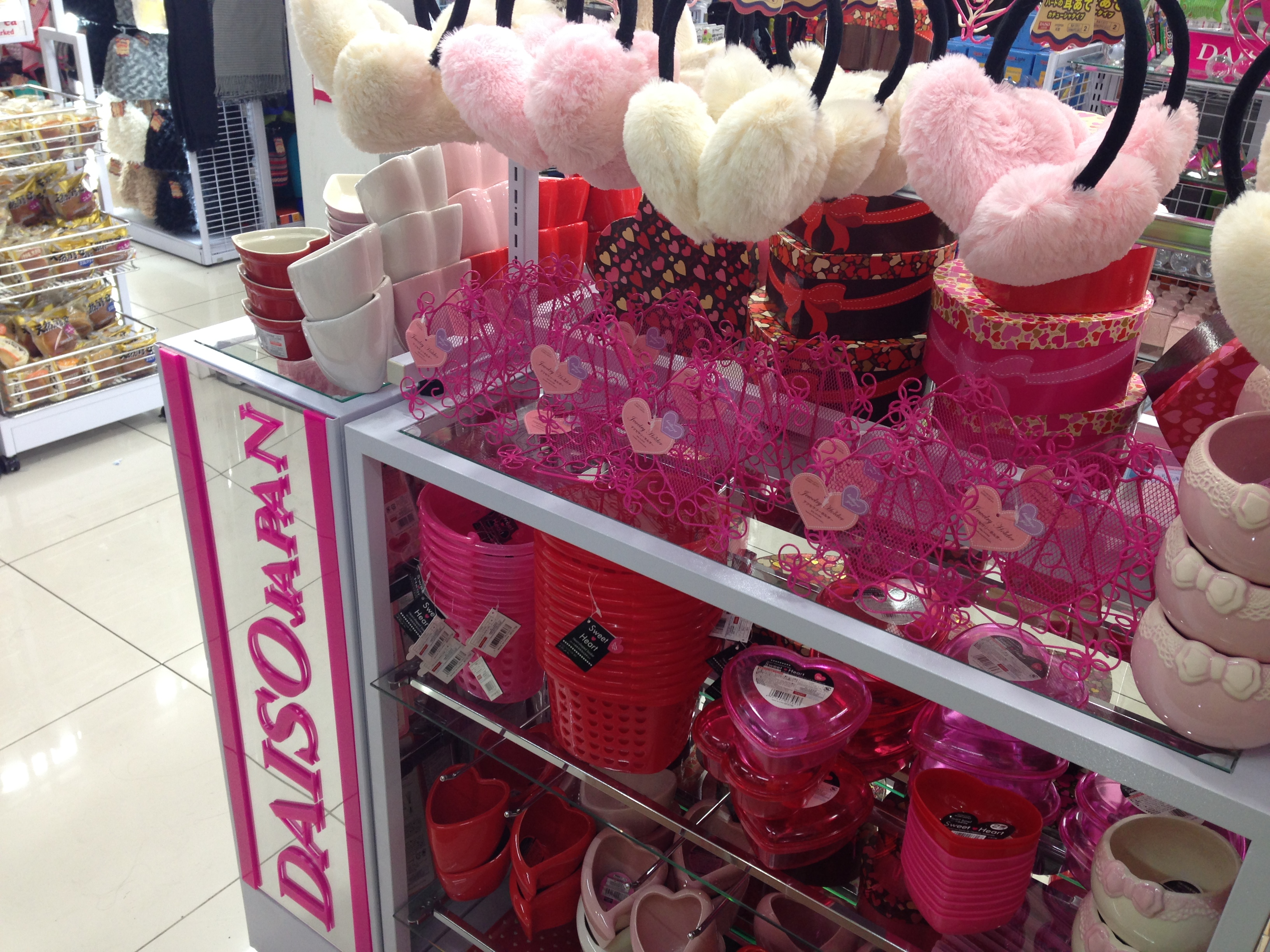 Even seasonal inventory for Valentine's Day!