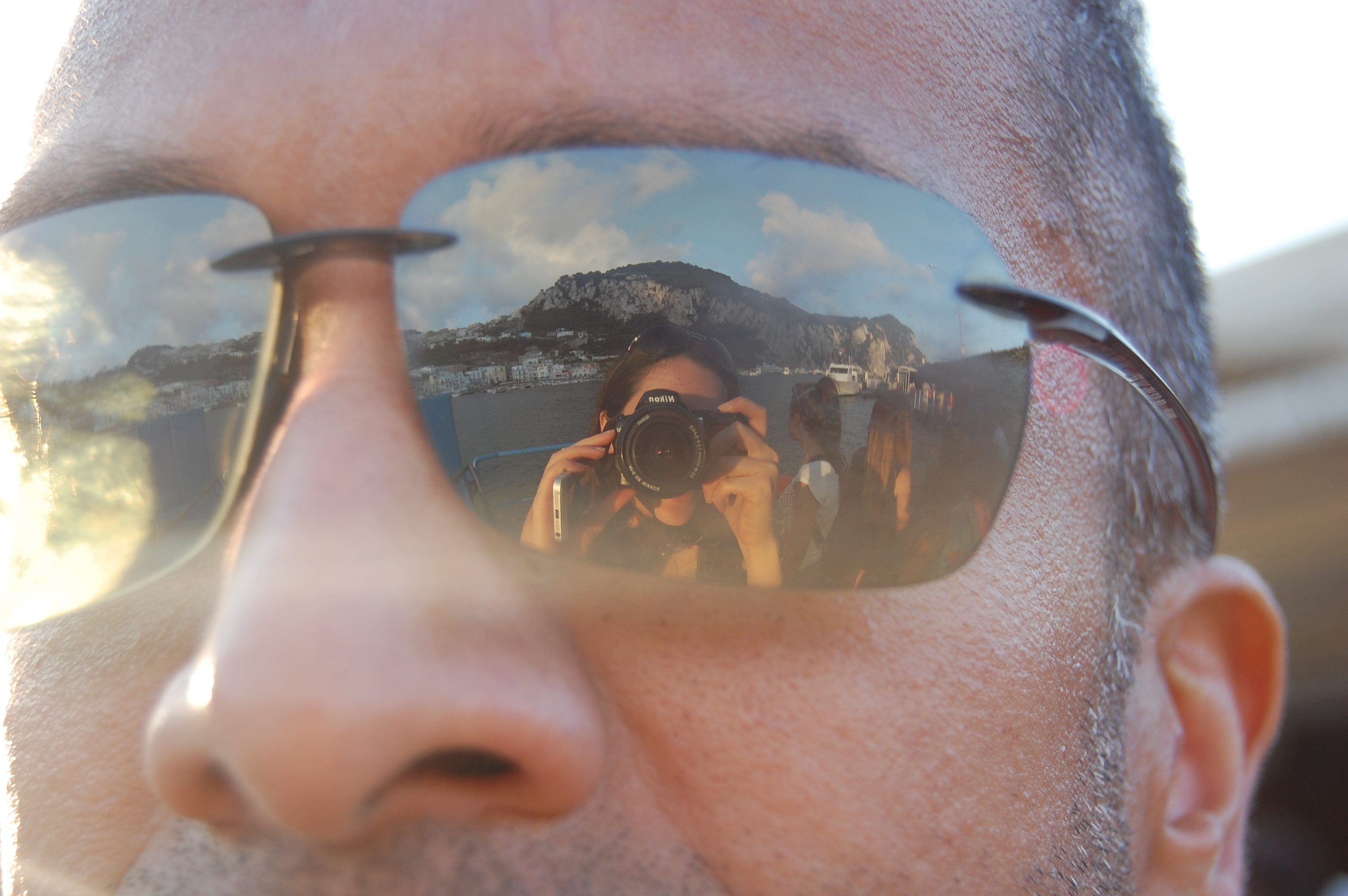 Name the Italian topography in his Maui Jims!