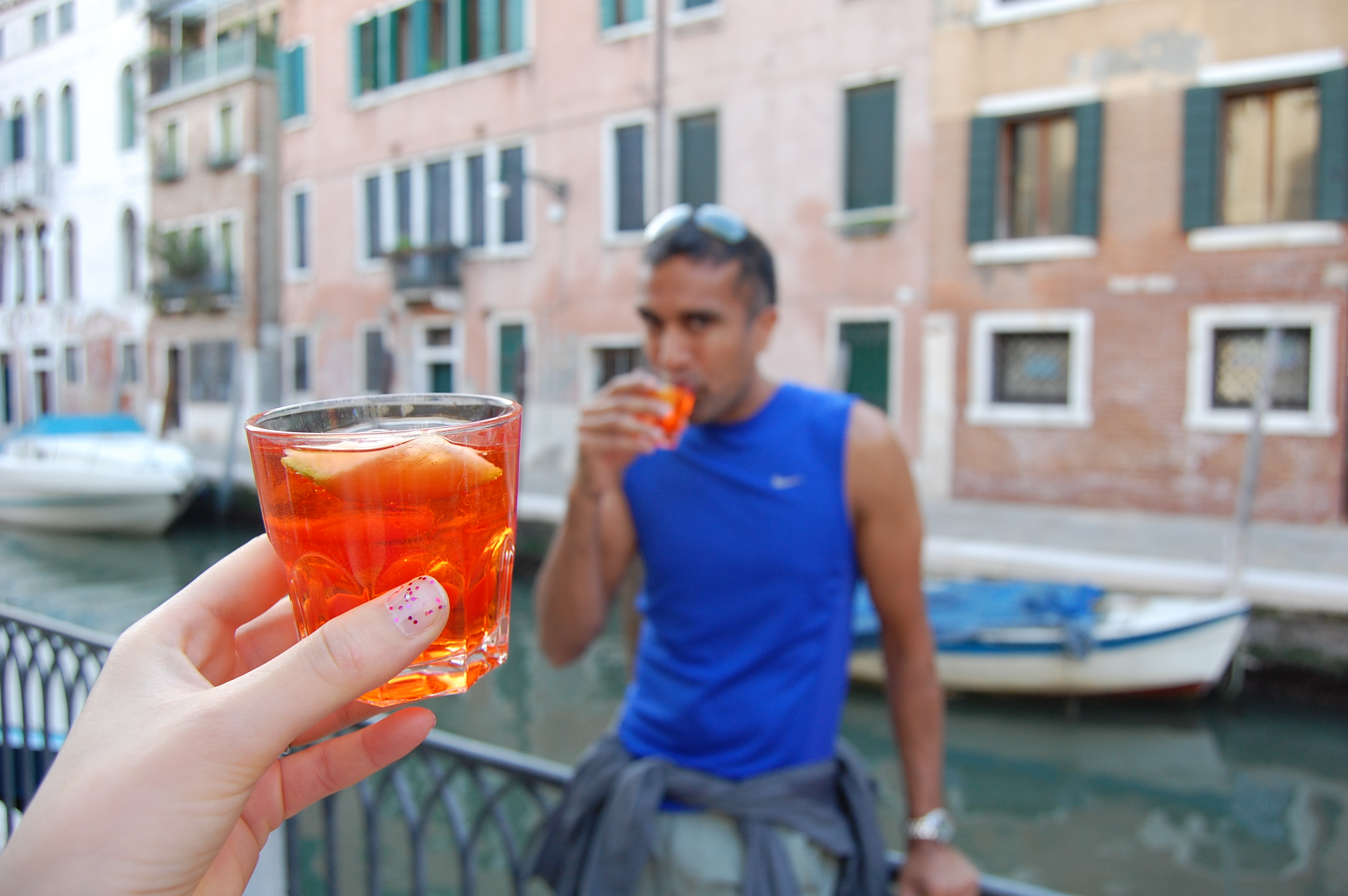 Aperol, they don't call it Bel Paese for nothing.