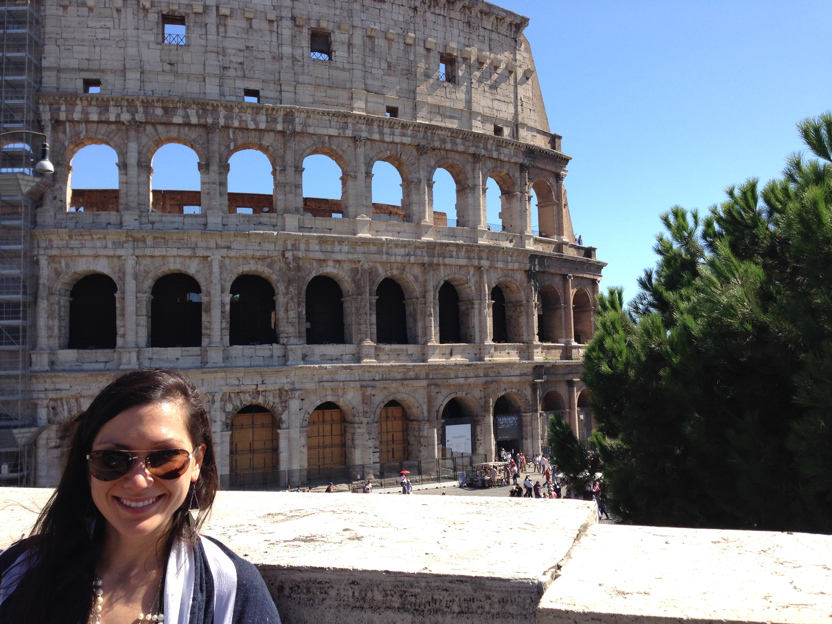 Colossal excitement @ the Eternal City