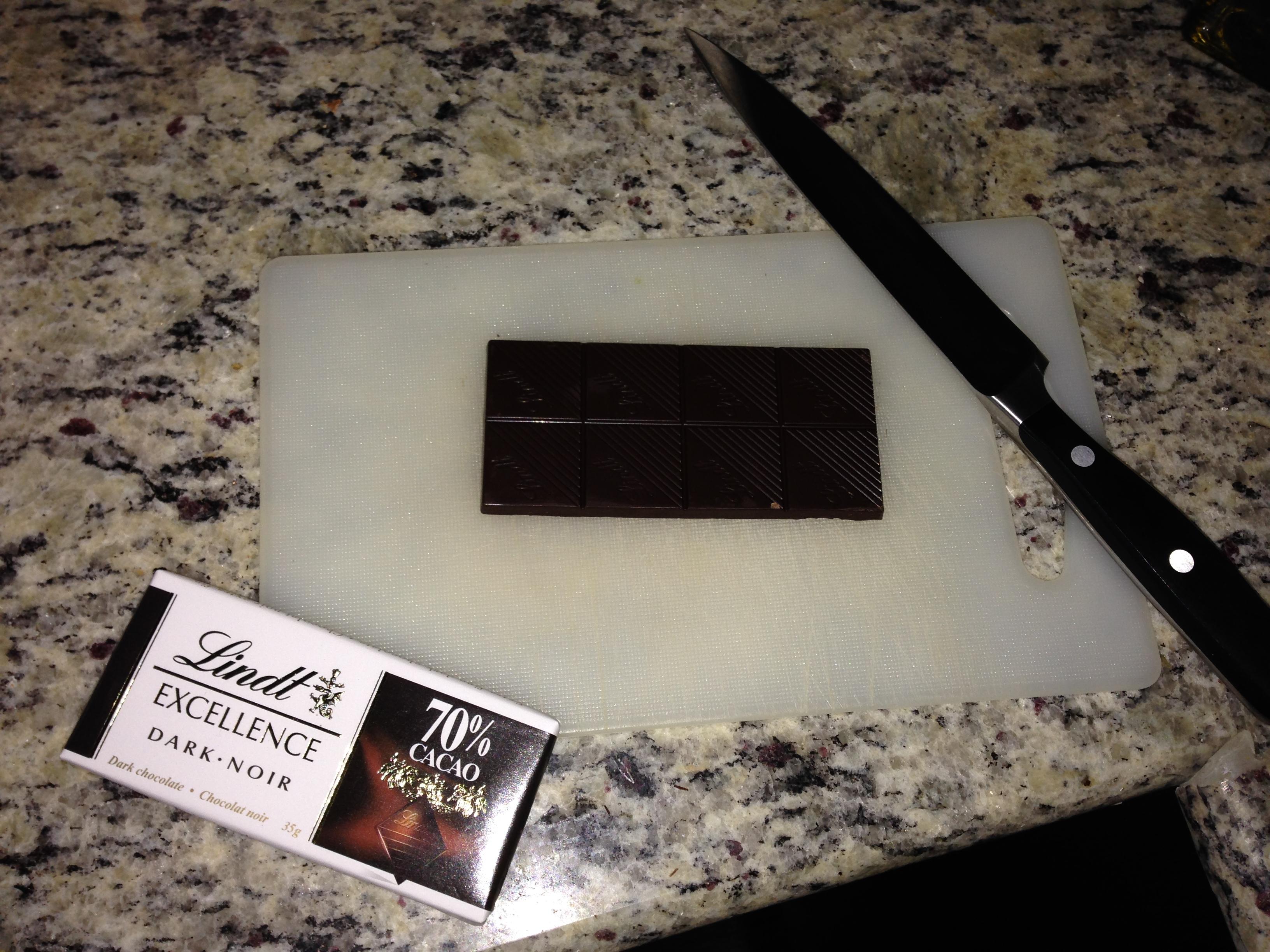 The secret weapon of my attempts to make midnight black chocolate gelato: start dark!