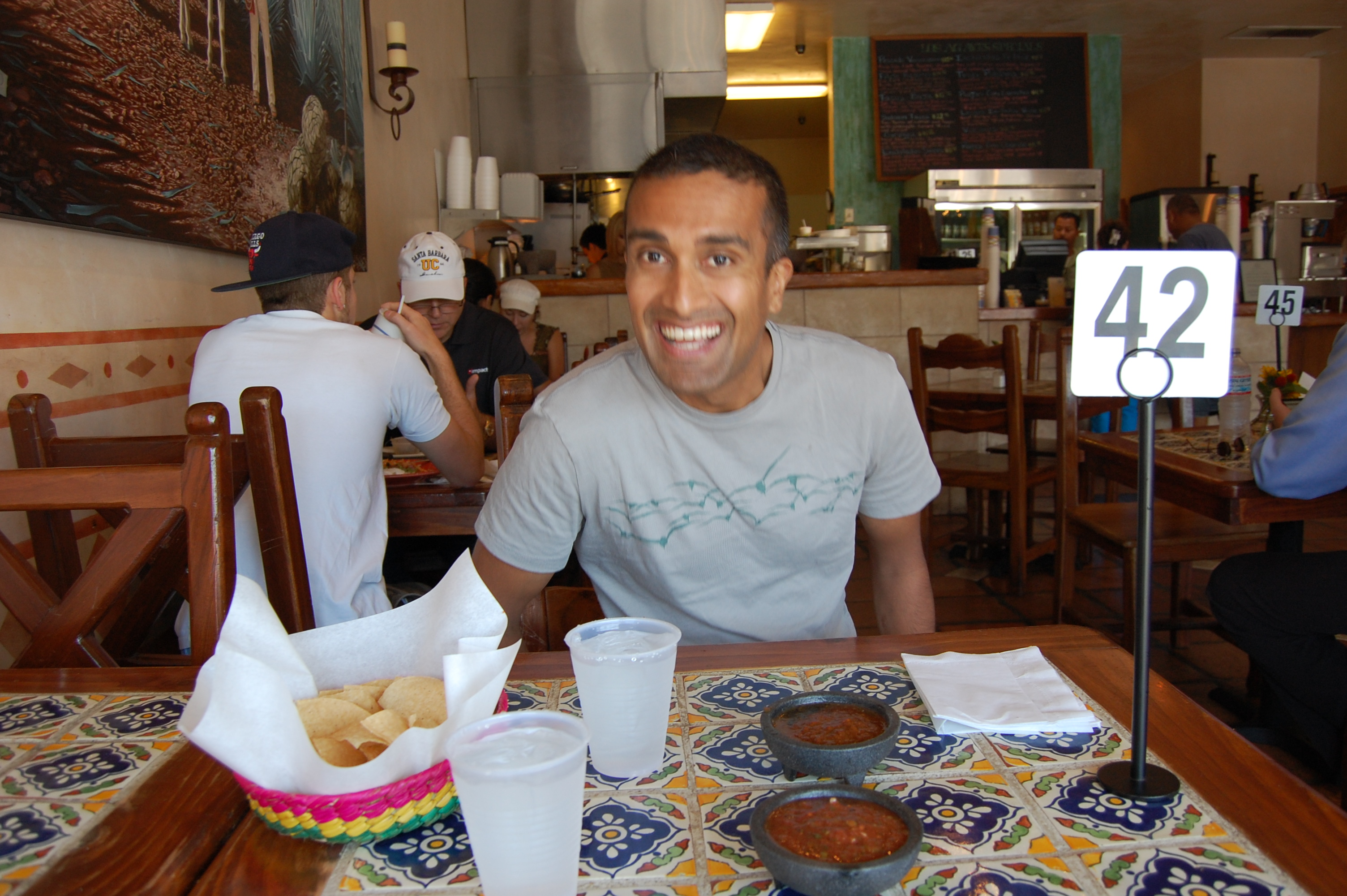 This was not our first time to Los Agaves, though. Look at us from these vintage photos 3 years ago, almost to the day. Soak in this youthful eagerness!