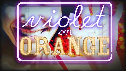 Violet On Orange